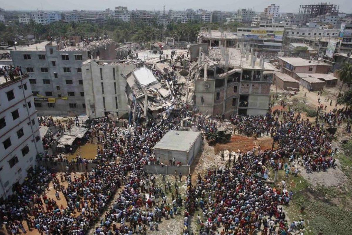 Hoy se cumple un año de la tragedia por el derrumbe del Rana Plaza, en Bangladesh. Foto: Getty. Imagen Por: