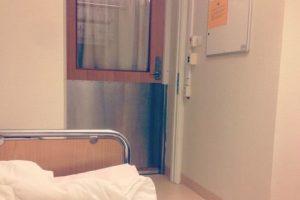 Su espacio era este, en un hospital que la ayudaba a comprender que debía comer Foto:Instagram. Imagen Por: