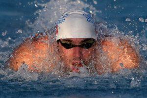 Regreso a la actividad en el Gran Premio de Natación de Arizona Foto:AFP. Imagen Por: