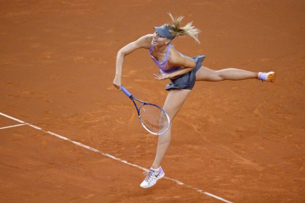 Maria Sharapova Foto:AFP. Imagen Por: