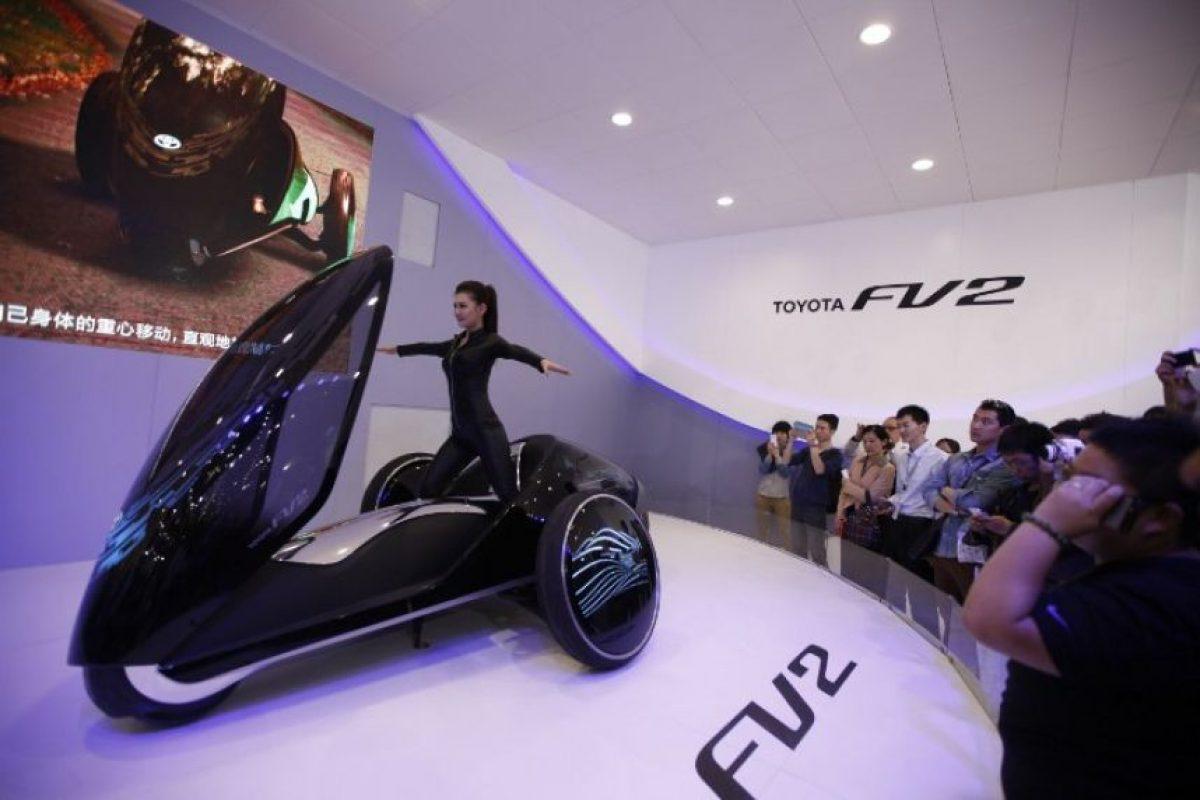 Toyota FV2, presentado en el Auto China 2014 Foto:AFP. Imagen Por: