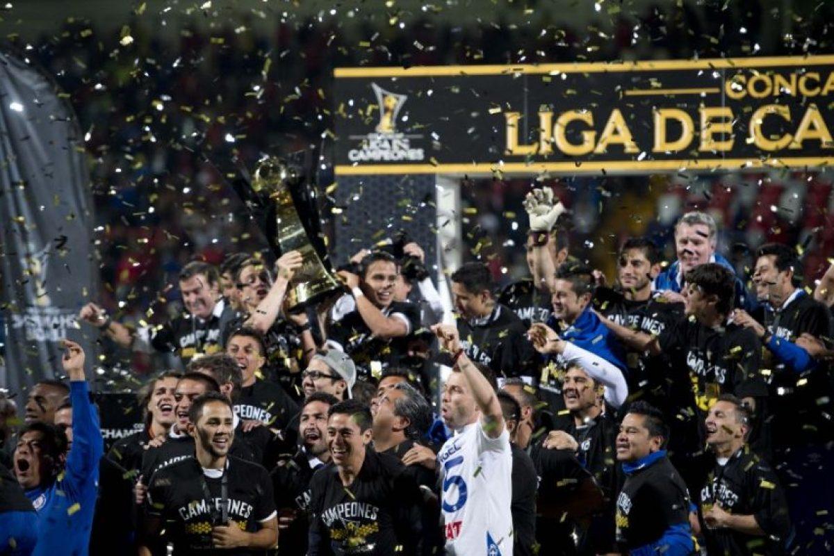 La Máquina venció al Toluca en la final de la Concacaf, entre equipos mexicanos, con lo que ganó un lugar en el próximo Mundial de Clubes. Foto:AFP. Imagen Por: