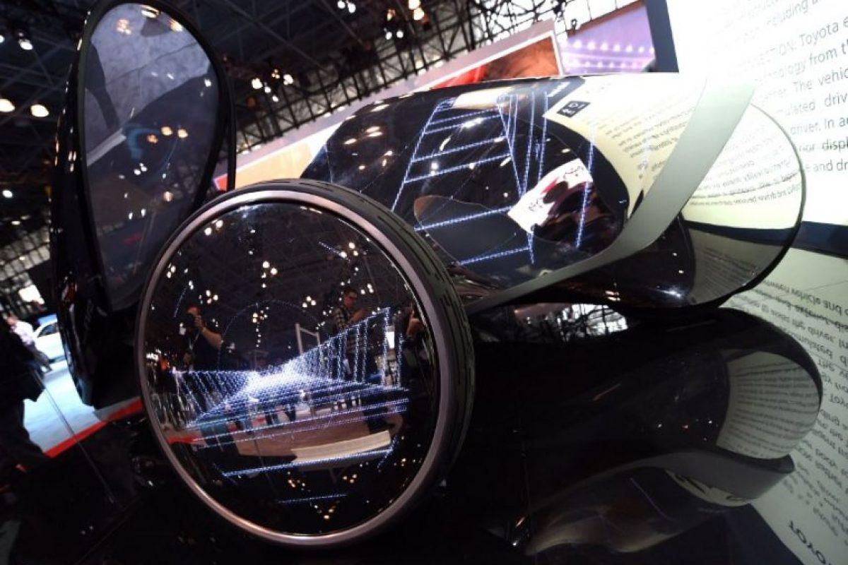 Toyota FV2 presentado en el New York International Auto Show Foto:AFP. Imagen Por: