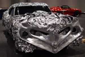 Vehículo 3D, presentado en el New York International Auto Show Foto:AFP. Imagen Por: