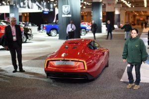 Volkswagen XL1, presentado en el New York International Auto Show Foto:AFP. Imagen Por: