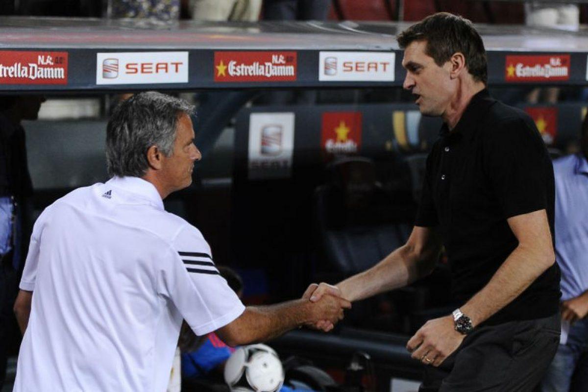Cuando Tito ya estaba al mando del Barcelona Foto:Getty Images. Imagen Por: