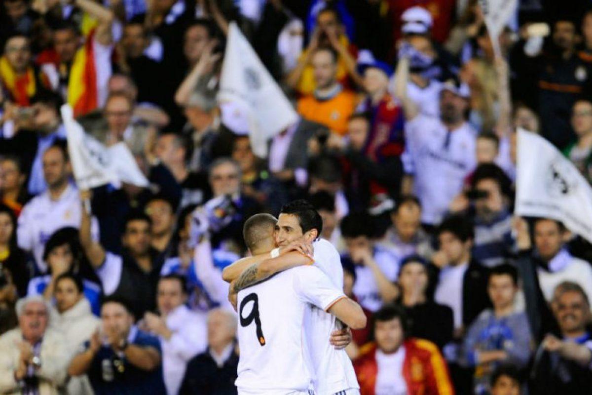 Celebra la única anotación del Madrid en el juego de semis de Champions ante Bayern Múnich Foto:Getty Images. Imagen Por: