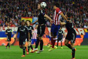 El equipo de Mou fue a sacar el 0-0 al Vicente Calderón, en el juego de ida de las semis de Champions ante el Atlético de Madrid Foto:Getty Images. Imagen Por: