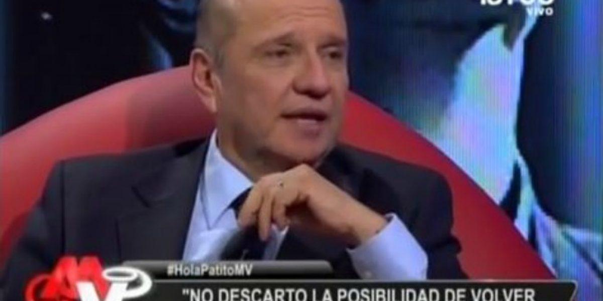 Pato Frez confesó que quiso volver al BDAT