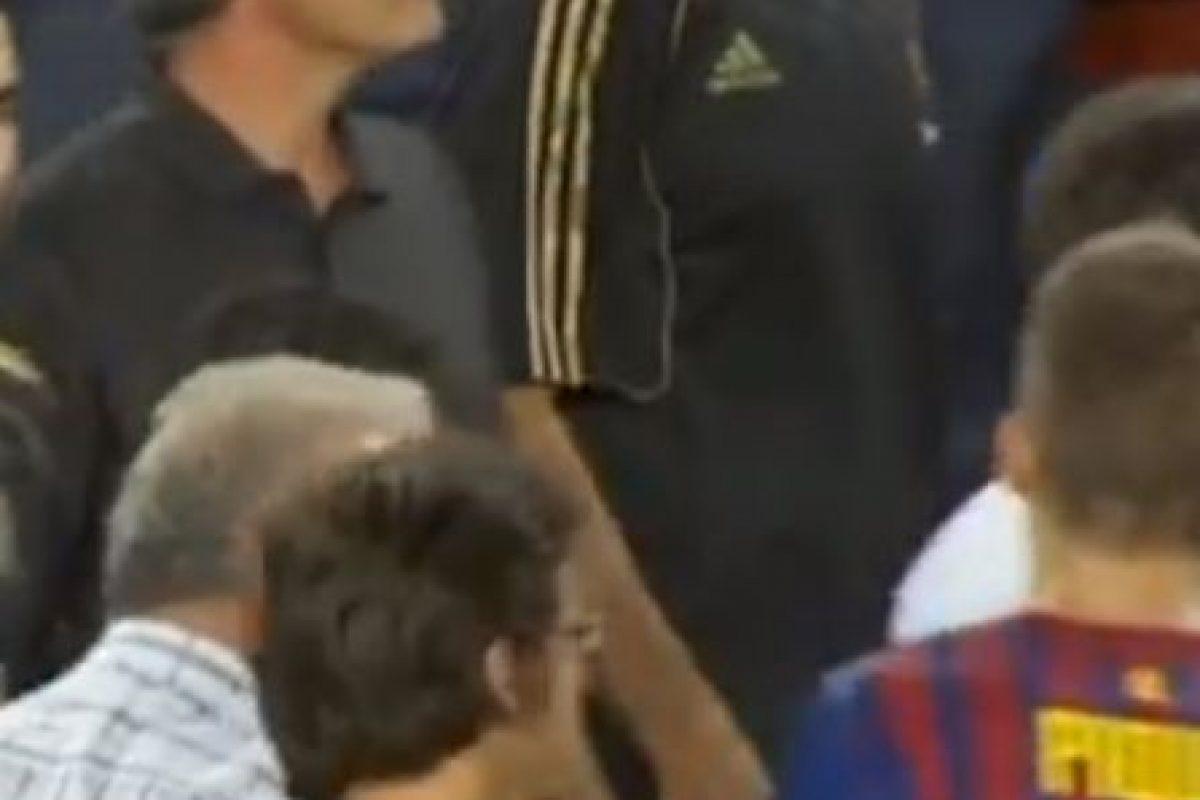 Mou agredió a Tito Foto:Youtube. Imagen Por:
