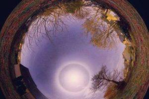 Se pueden formas alrededor del Sol o la Luna Foto:statigram. Imagen Por: