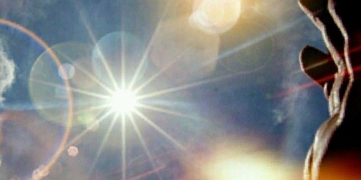 Una mujer que nunca había visto un halo solar lo reportó al 911