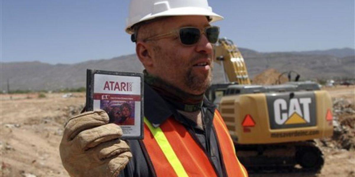 Confirman el mito: Sí enterraron los cartuchos de E.T. para Atari 2600