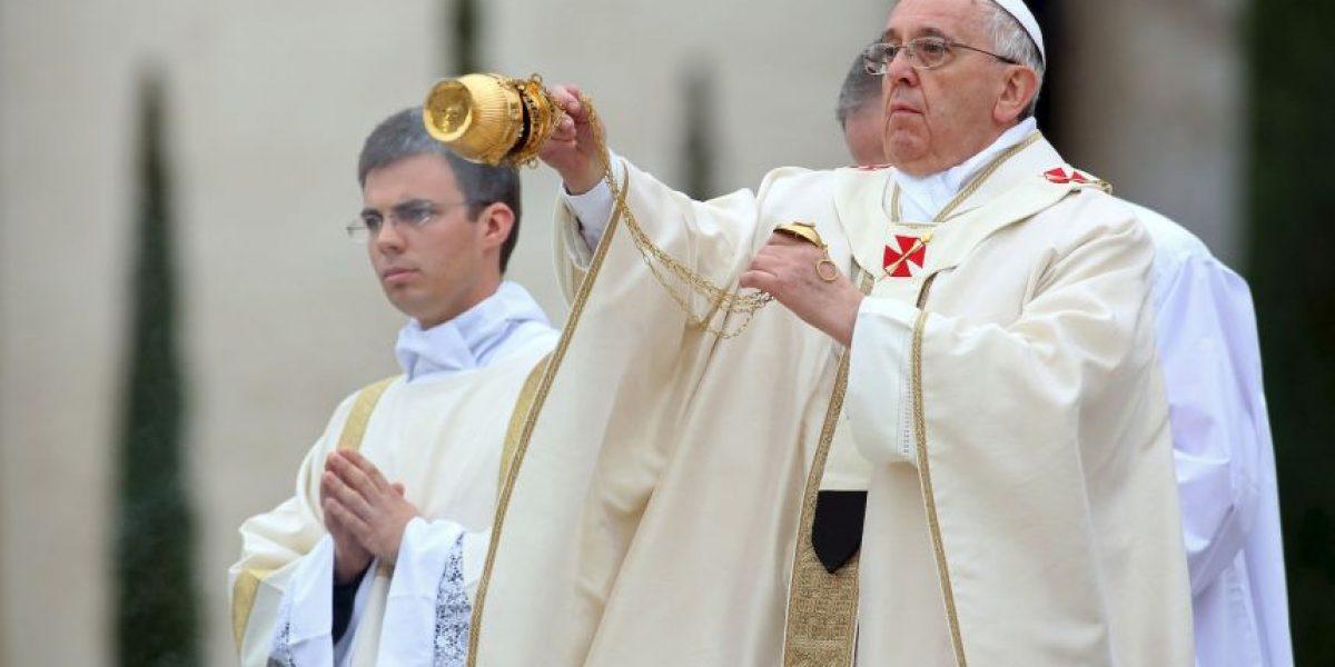 Con estas palabras Francisco canonizó a Juan Pablo II y Juan XXIII