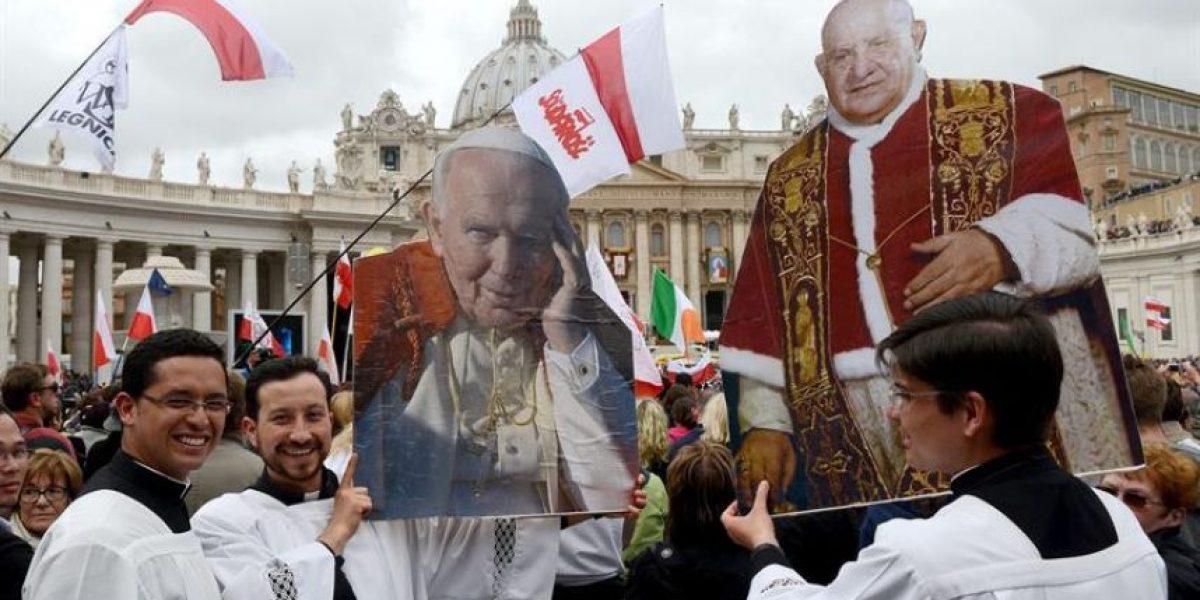 Papa Francisco proclama santos a Juan XXIII y Juan Pablo II
