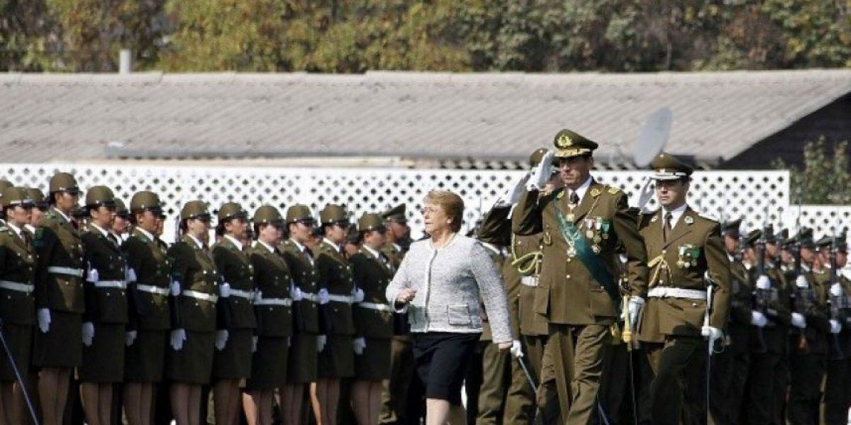 Galería: Presidenta Bachelet encabezó aniversario de Carabineros