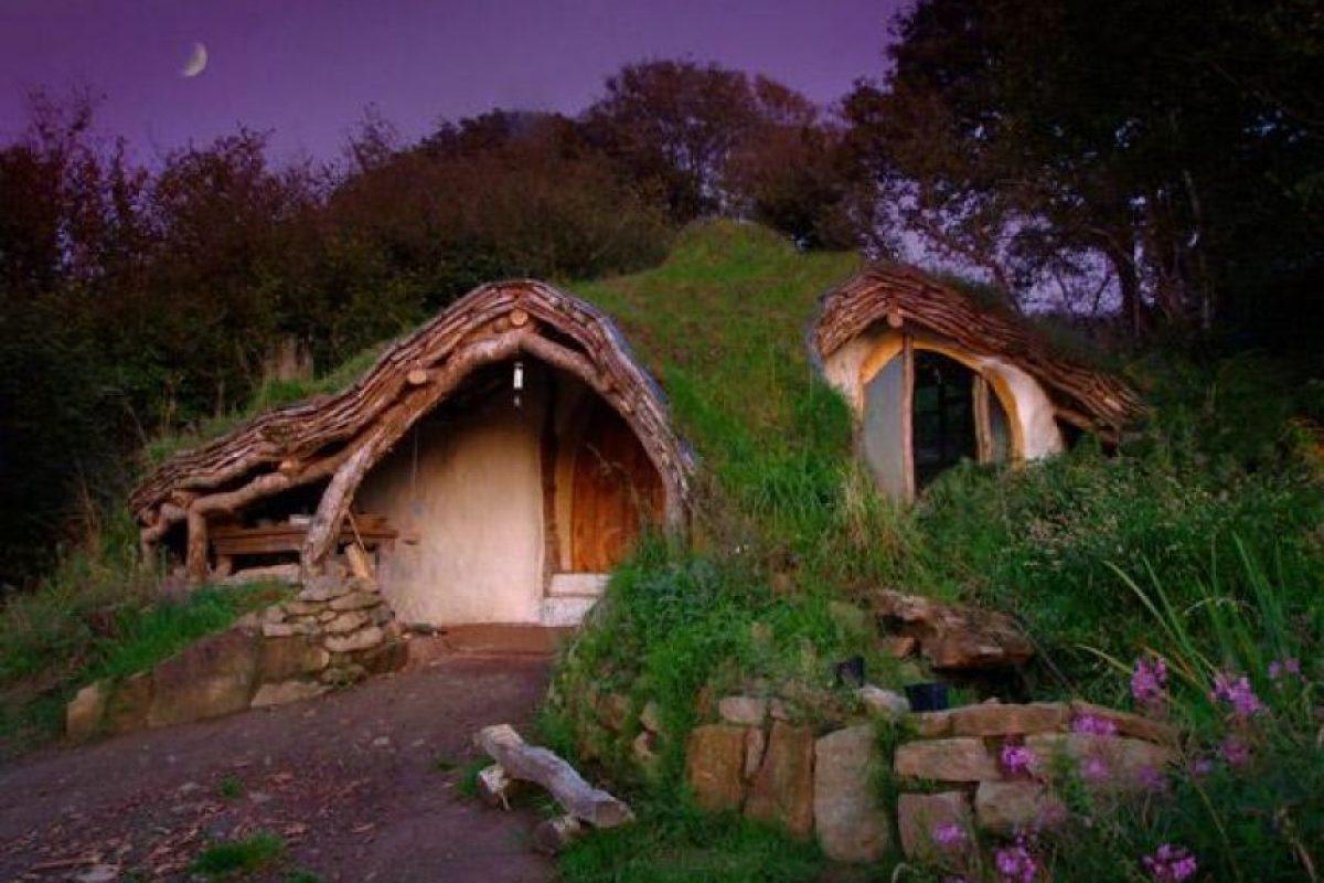 Casa de madera, Gales Foto:Vía Strange Buildings. Imagen Por:
