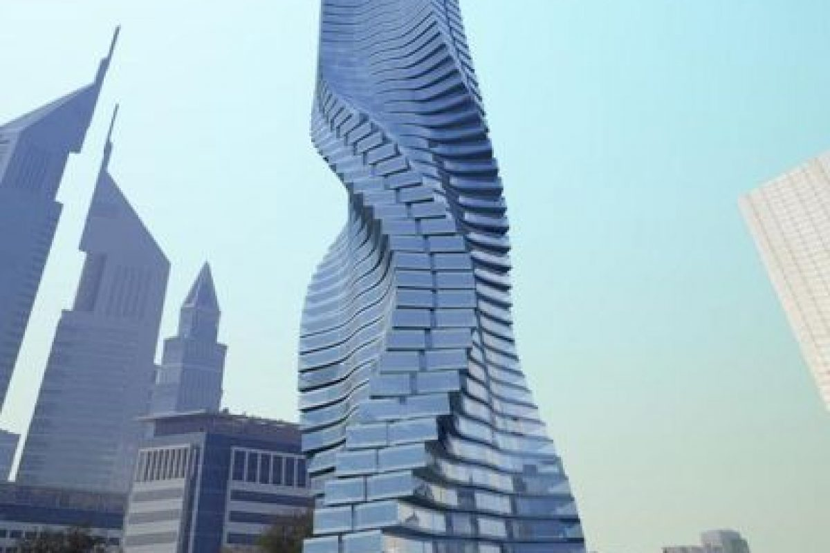 Torre giratoria, Dubai Foto:Vía Strange Buildings. Imagen Por: