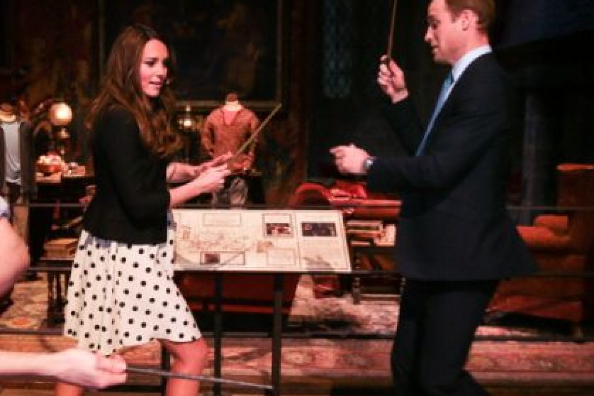 Incluso los Duques de Cambridge son fanáticos de la saga Foto:Getty. Imagen Por: