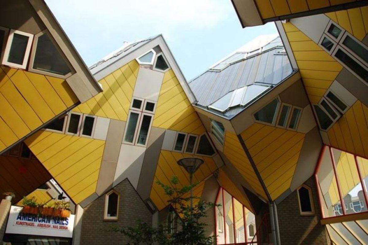 Casas cubo, Países Bajos Foto:Vía Strange Buildings. Imagen Por: