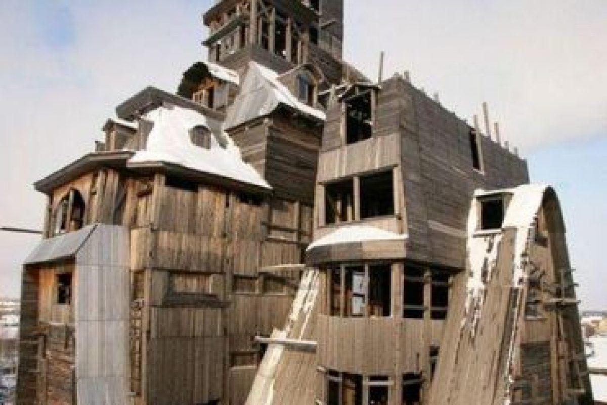 Wooden Gagster House, Rusia Foto:Vía Strange Buildings. Imagen Por: