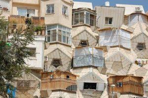 Casa panal, Israel. Imagen Por: