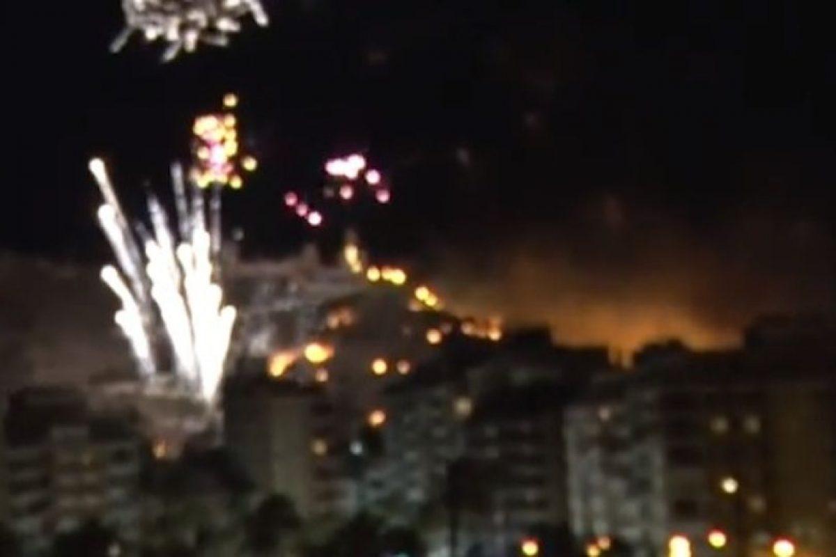 La celebración de las fiestas patronales de Cullera, en España, terminó en tragedia. Foto:Youtube. Imagen Por: