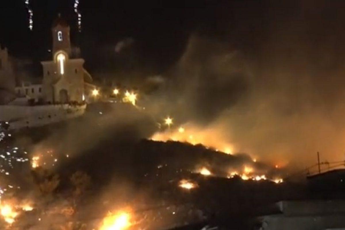 Horas antes se emitió una alerta de posibles incendios forestales. Foto:Youtube. Imagen Por: