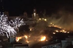 No se reportan víctimas ni heridos tras el incendio. Foto:Youtube. Imagen Por: