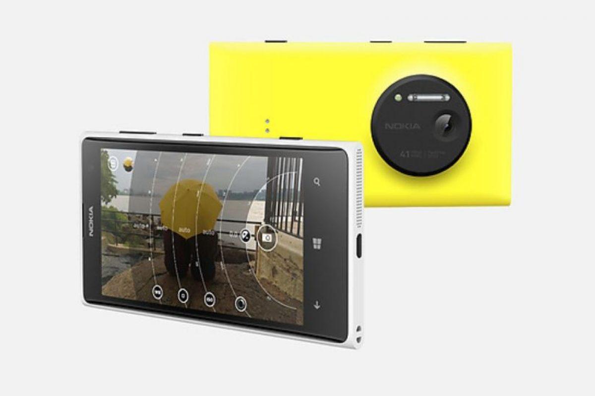 Nokia Lumia 1020 Foto:Nokia / Microsoft. Imagen Por: