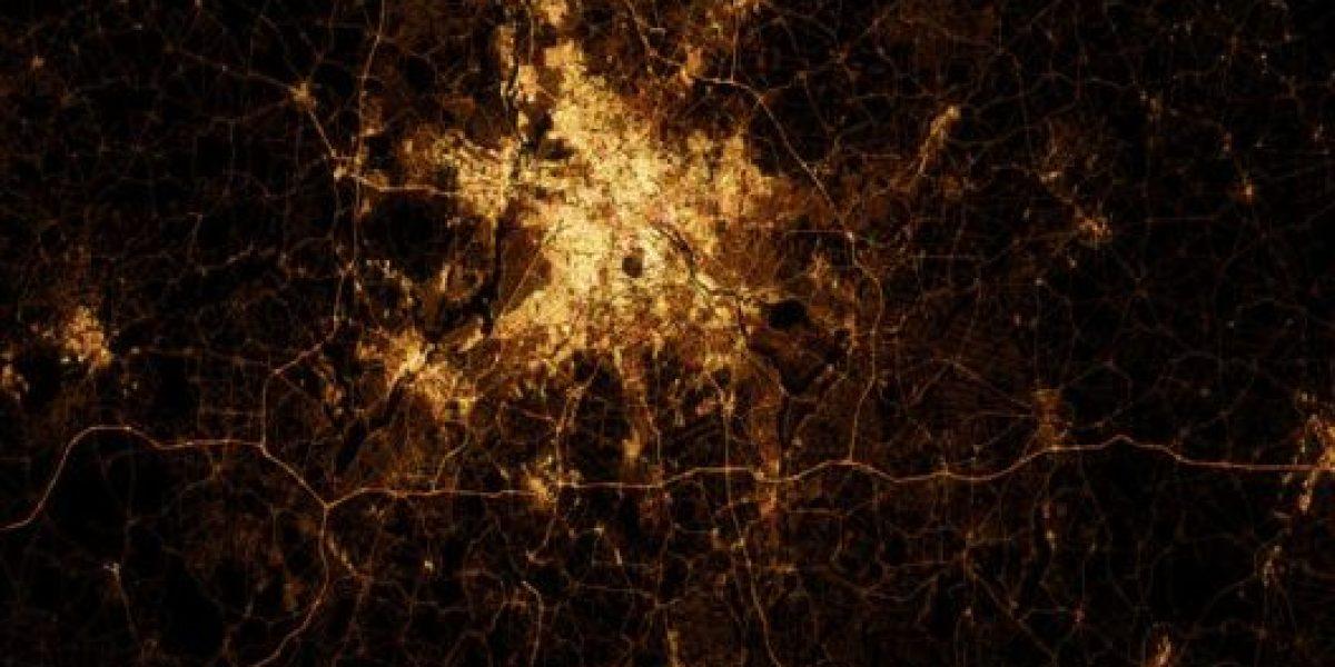 FOTOS: Impresionantes imágenes de ciudades vistas desde el espacio