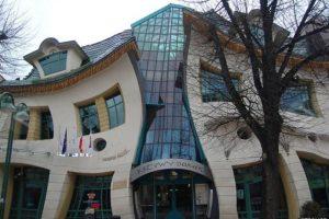 La casa chueca, Polonia Foto:Vía Strange Buildings. Imagen Por: