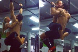 También: Hombres musculosos utilizando a sus chicas como pesas Foto:Instagram. Imagen Por:
