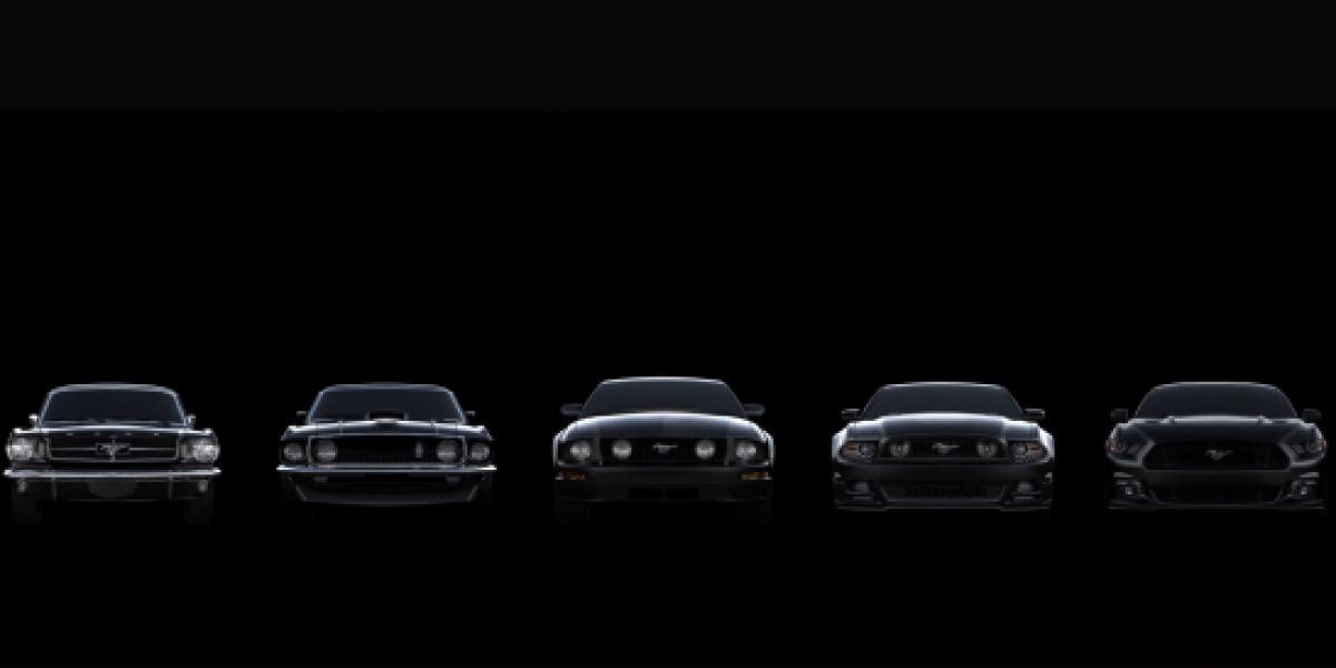 Así fue la evolución del Mustang en 50 años