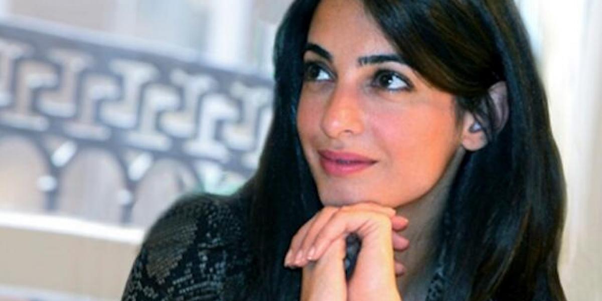 Ella es la abogada que le robó el corazón a George Clooney