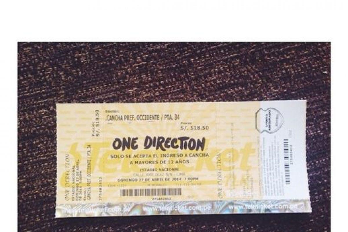 Otra fan emocionada de asistir al concierto Foto:Instagram. Imagen Por: