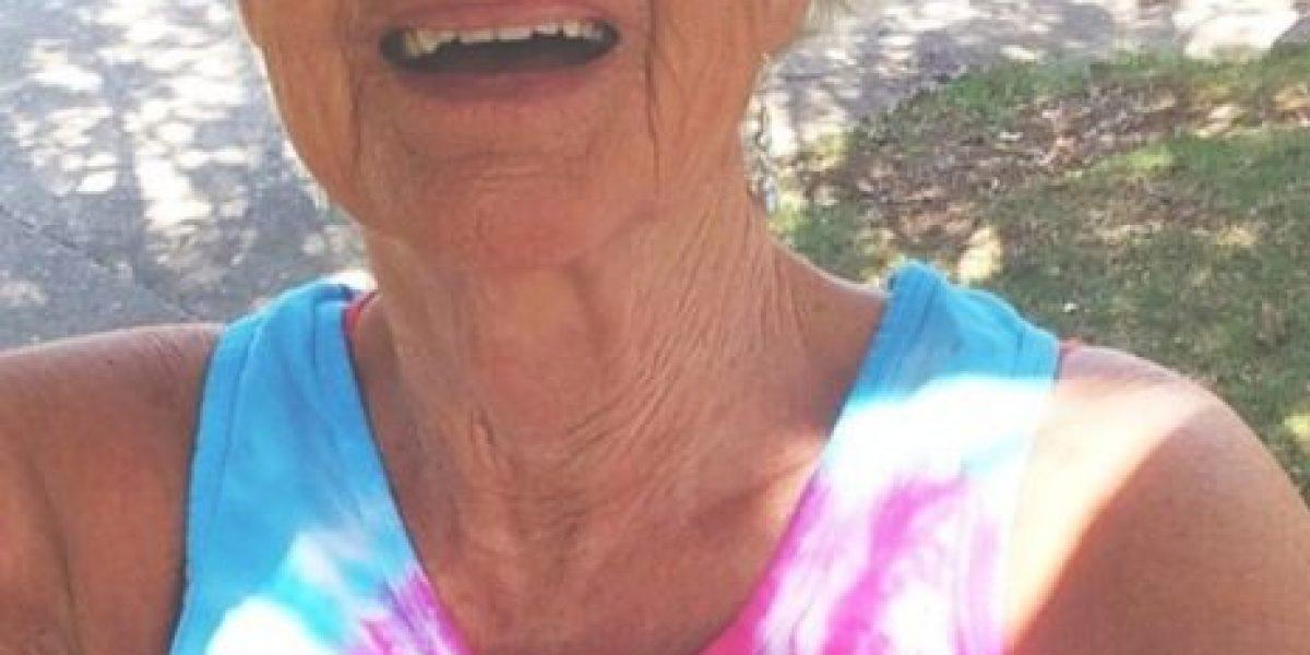 Fotos y video: La abuelita más seguida en Internet