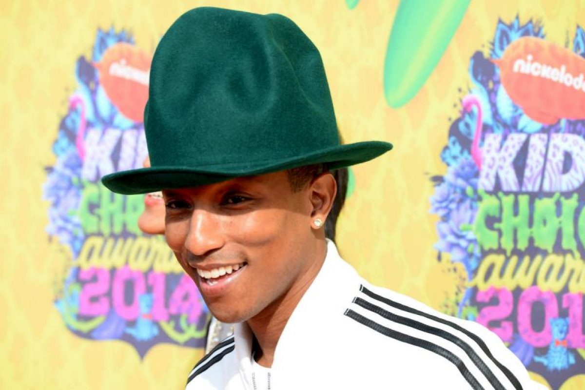"""El 2005 Pharrell fue nombrado como el hombre mejor vestido en el mundo por la revista """"Esquire"""". Foto:Getty Images. Imagen Por:"""