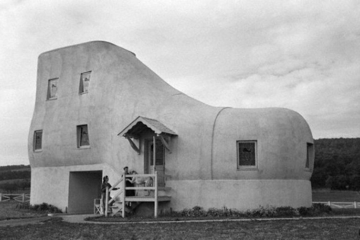 Casa de zapato, EUA Foto:Vía Strange Buildings. Imagen Por: