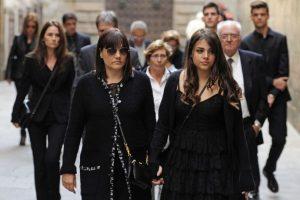 Montse Chaure-Vilanova y su hija Carlota Foto:AFP. Imagen Por: