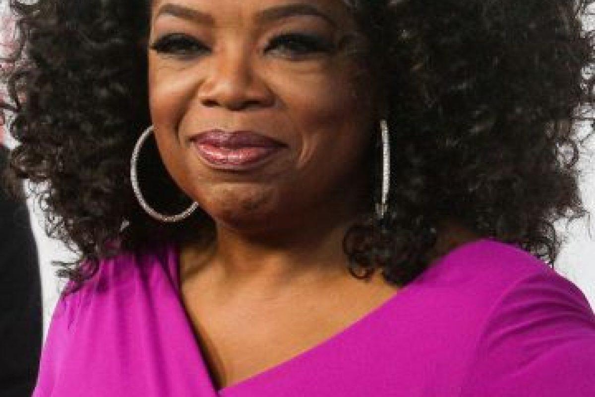 Oprah ha ganado múltiples premios por su show, entre ellos un Emmy. Foto:getty images. Imagen Por: