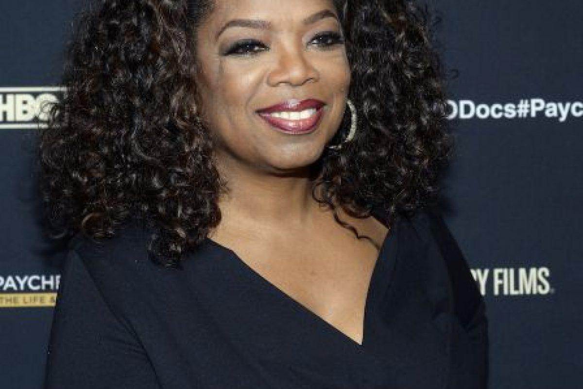 El 29 de enero de este año Oprah celebró sus 60 a�os. Foto:getty images. Imagen Por: