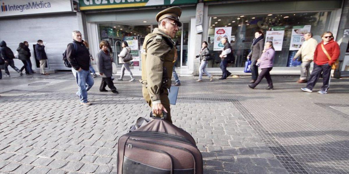 [FOTOS] Esta maleta sospechosa obligó a suspender el tránsito en Alameda
