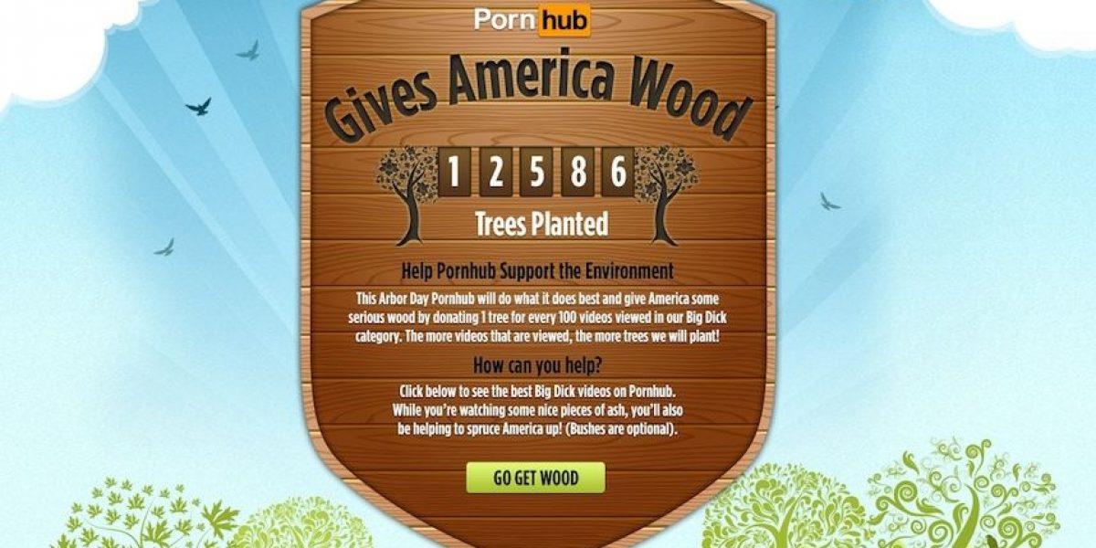 Vea pornografía y contribuya a salvar el planeta