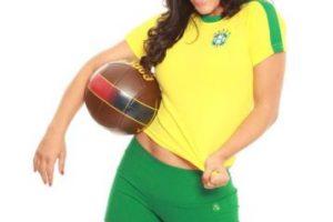 Fue la novia del Mundial de Sudáfrica 2010 Foto:Twitter. Imagen Por: