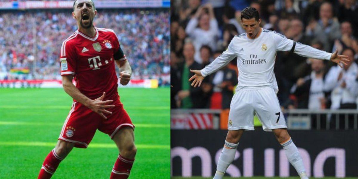 El bello vs. la bestia: CR7 y Ribéry definen al finalista de la Champions