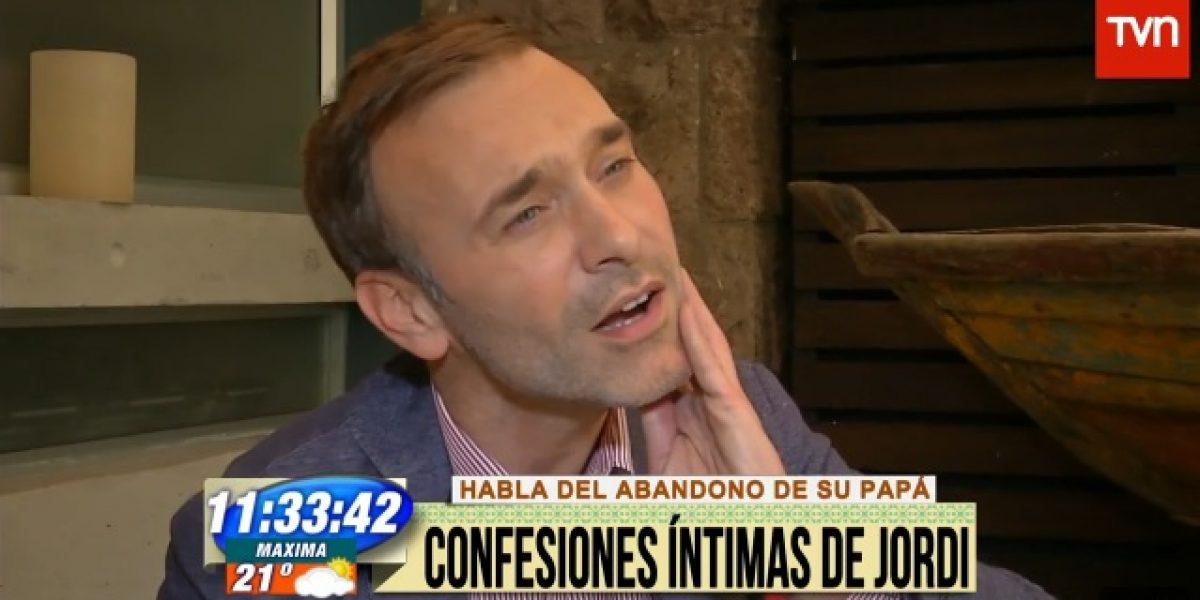 Jordi Castell habla del abandono de su padre: