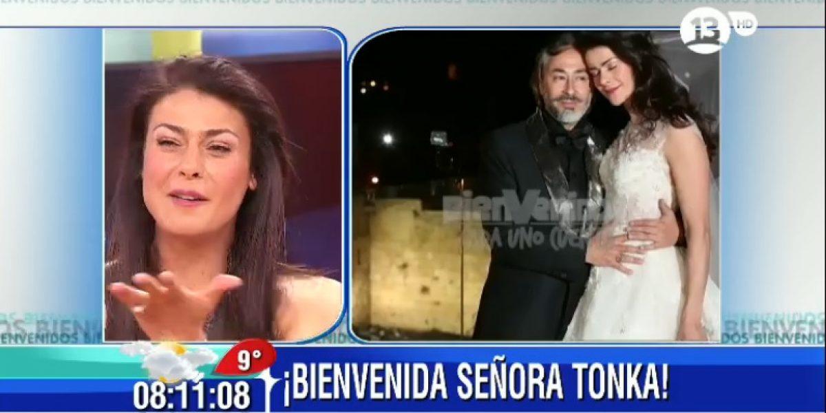 Tonka Tomicic aclara cómo fue su matrimonio y niega rumores de ser inválido