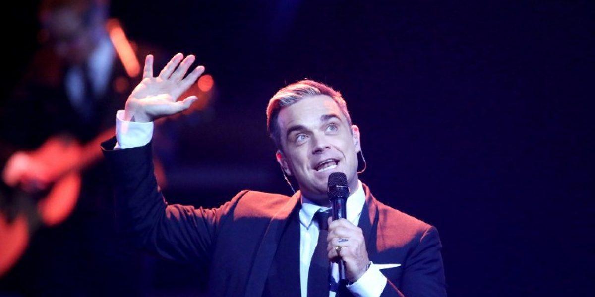 Robbie Williams será padre de nuevo