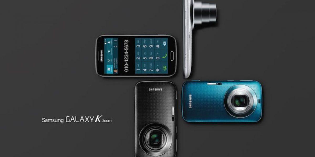 Galaxy K zoom, el nuevo smartphone de Samsung con gran cámara